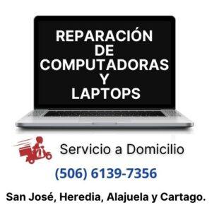 reparación computadoras y laptops a domicilio