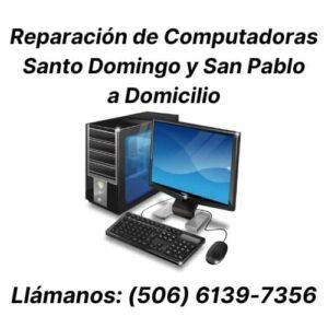 reparacion de computadoras santo domingo heredia