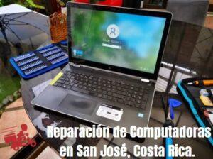 reparación de computadoras san José costa rica